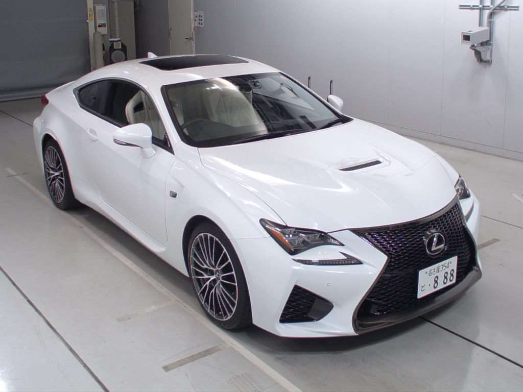 Buy used LEXUS RC F at Japanese auctions