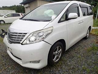 TOYOTA ALPHARD 240G с аукциона в Японии