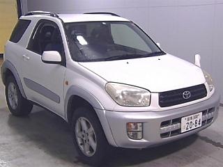 TOYOTA RAV4 4WD Wide Sports с аукциона в Японии