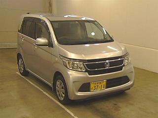 HONDA N WGN G с аукциона в Японии
