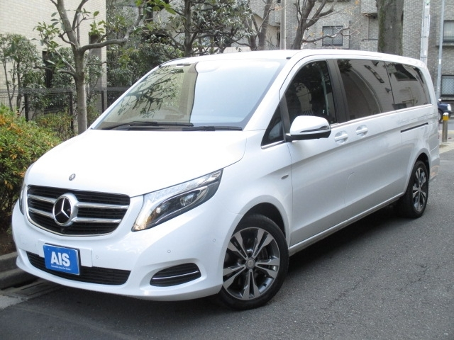 Buy used MERCEDES BENZ V CLASS at Japanese auctions