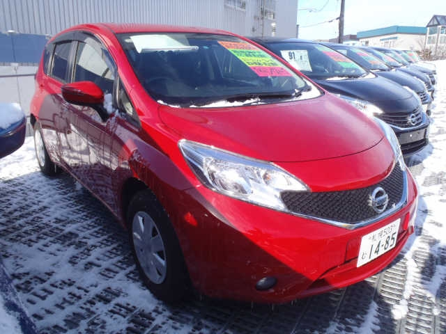 Buy used NISSAN NOTE at Japanese auctions