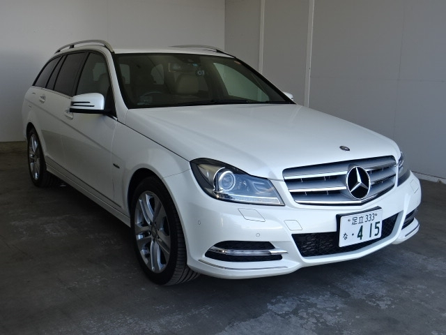Buy used MERCEDES BENZ C CLASS STATION WAGON at Japanese auctions